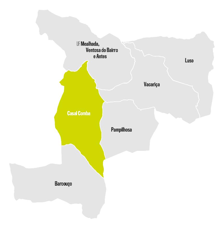 Mapa Casal Comba